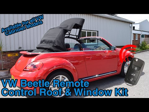 VW Beetle Cabriolet Remote Roof Open & Close Kit