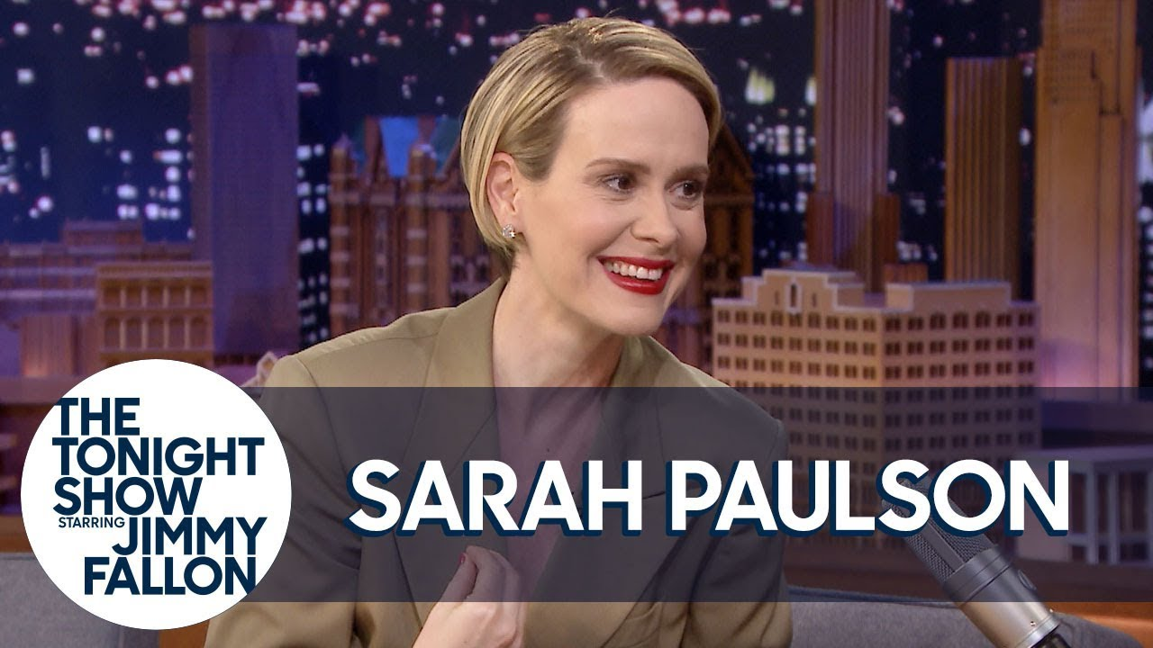 Sarah Paulson Freaked Out When Cher Touched Her at the Met Gala thumbnail