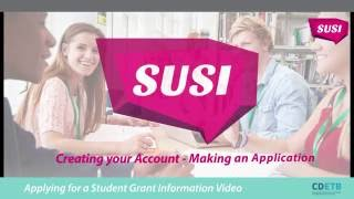 SUSI now open for new and renewal undergraduate and postgraduate students dont