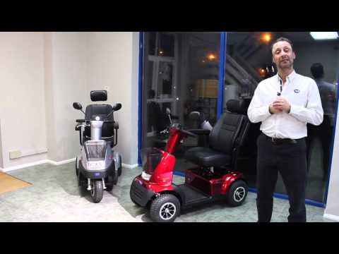Mobility Scooters - A Quick Guide to TGA Breeze Midi 3 & 4 Range YouTube video thumbnail