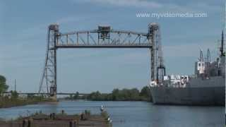 preview picture of video 'Welland Canal, Lock 4 - Canada HD Travel Channel'