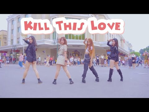 KPOP IN PUBLIC BLACKPINK 'KILL THIS LOVE' Dance Cover [AO