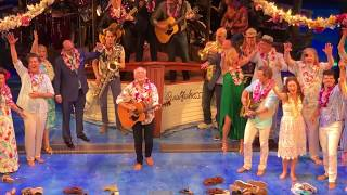 Jimmy Buffet performs at opening night of ESCAPE TO MARGARITAVILLE
