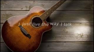 Morgan Wallen   The Way I Talk (Lyric Video)