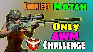 AWM Only Challenge In Rank Match   Garena Free Fire   Desi Gamers