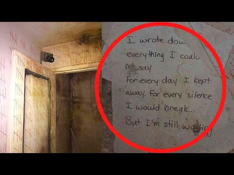 Urban Explorers Find Strange Markings And Letters While Exploring An Abandoned Duplex