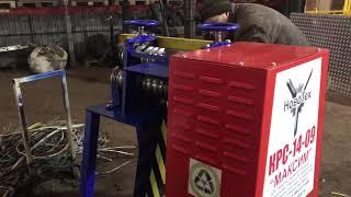 Предпродажные испытания станка кабелеразделочного КРС-14-09