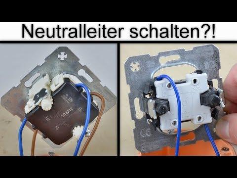 Darf der Neutralleiter geschaltet werden? | Vor- und Nachteile des zweipoligen /einpoligen Schaltens