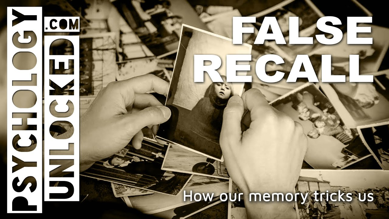 False recall and what it tells us about our memory