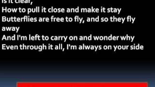Sheryl Crow - Always On Your Side Lyrics