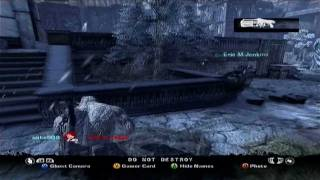 Gears Of War 2: EPIC FAIL (With The Boomshot)