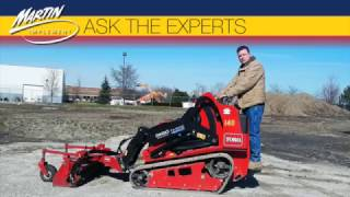Ask The Experts: What Should I Know About Operating a Toro Dingo TX1000 Compact Track Loader?