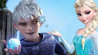 JOGOS DA FROZEN - Disney Frozen - Elsa & Jack Frost - Thief Kiss