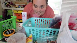 Reorganizing & Grocery Shopping LEGGO!  - SRV #269 |Sarah Rae Vlogas|