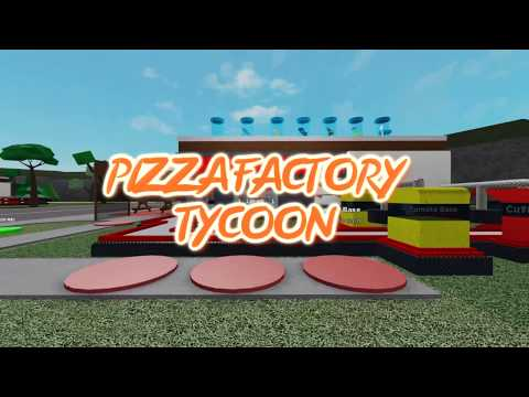 Pizza Factory Tycoon - Roblox