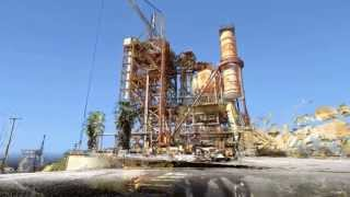 HAER Fly-through of Coca Test Area at Santa Susana Field Labratory