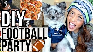 DIY Football Party! Treats, Decor, Outfits, & More | Ariel Hamilton