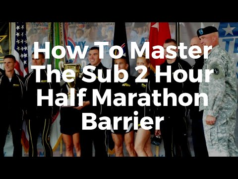 How To Run A Sub 2 Hour Half Marathon | Tips for ALL CALIBER ...