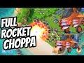 Attack Full Rocket Choppa Boom Beach