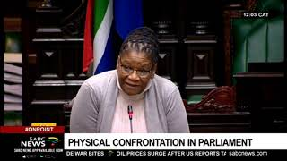Physical confrontation in Parliament on Wednesday