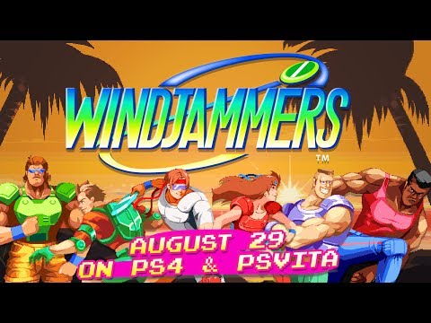 Windjammers – Characters Trailer | PS4/PSVita thumbnail