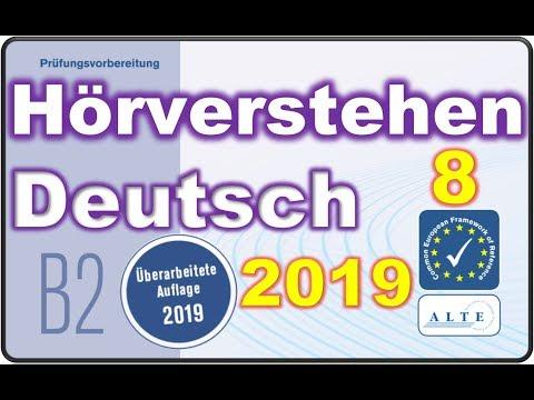 Modelltest (8) B2 allgemein Hörverstehen Deutsch Telc 01.09.2019