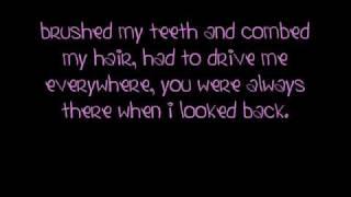 Miley Cyrus Butterfly Fly Away lyrics
