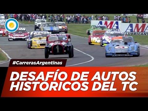 Automovilismo - Desafío de autos históricos del TC