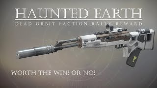 Destiny 2 - Haunted Earth - Faction Rally Dead Orbit Scout Rifle - PVP Gameplay Review
