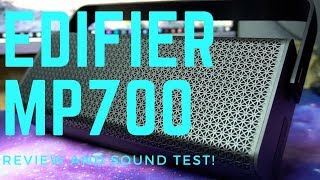 Edifier MP700 Bluetooth Speaker Review and Sound Test!