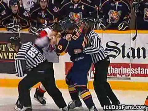 Kyle Clifford vs Andrew Shaw