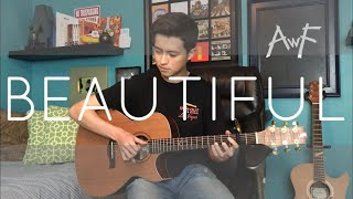 Beautiful   Bazzi Feat. Camila Cabello    Cover (fingerstyle Guitar) Now On Spotify