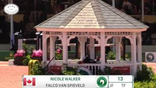 Check out Nikki Walkers great jump off round with Falco from last