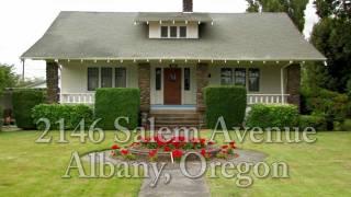 Albany Oregon Historic Home For Sale | 2146 Salem Ave Albany