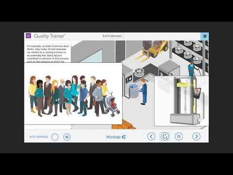Take a Tour of Quality Trainer by Minitab - YouTube