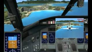 preview picture of video 'Flight Simulator X Training-2 (Bombardier CRJ700 )'