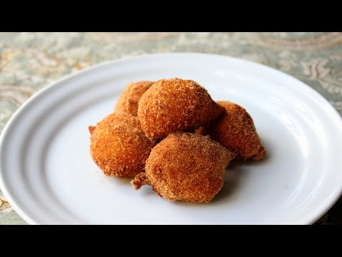 Video Pumpkin Zeppole (Simple Italian Doughnut) - How to Make Pumpkin Doughnuts