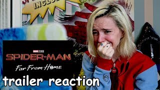 SPIDER MAN: FAR FROM HOME Official Trailer REACTION