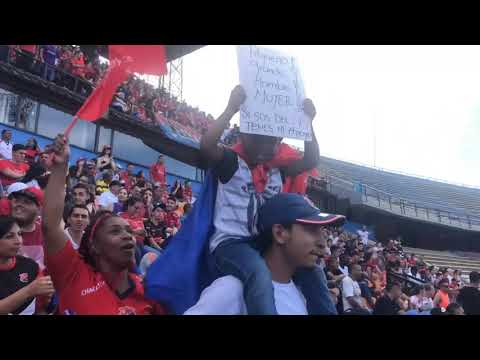 """""""¡Hecho histórico! Primer clásico femenino en el Atanasio Girardot DIM FI VS NACIONAL"""" Barra: Rexixtenxia Norte • Club: Independiente Medellín • País: Colombia"""