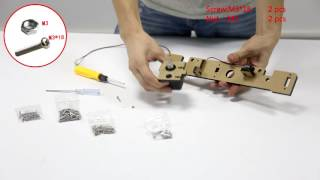 3D Printer Instruction--The Newest Anet 3D Printer A8 Assembly Video 1