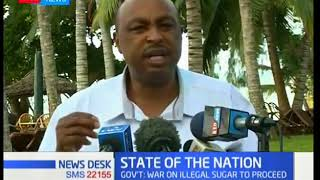 Government Spokesperson Kiraithe warns sugar barons, promises fierce war on illegal goods
