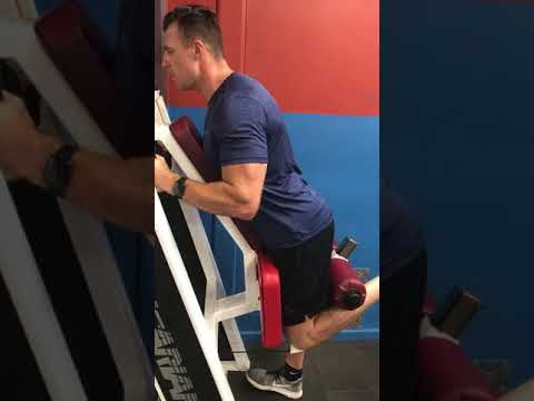 A great exercise to isolate and exhaust the hamstrings