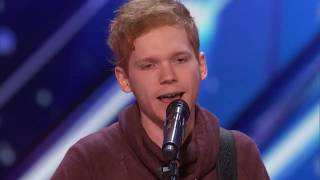 America's Got Talent 2017 Audition - Chase Goehring Cute Singer With Original Song