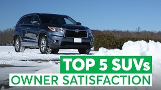 The Top 5 Used SUVs Owners Love (And The 3 To Avoid) | Consumer Reports