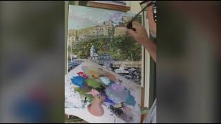 Time Lapse Video of me painting the Avalon Catalina Yacht Club