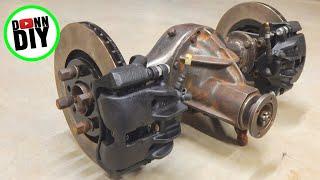 Brake Caliper Mounts & Rebuild - Tracked Amphibious Vehicle Build Ep. 4