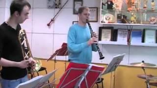 Вязниковский Диксиленд (репетиция)
