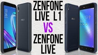 Zenfone Live L1 vs Zenfone Live (Comparativo)