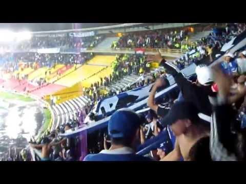 """""""BLUE RAIN - MILLONARIOS ES MI ALEGRIA!"""" Barra: Blue Rain • Club: Millonarios"""