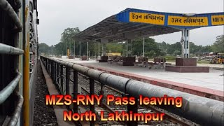 preview picture of video '#Murkongselek #Rangia Passenger departingfrom #NorthLakhimpur #NFR'